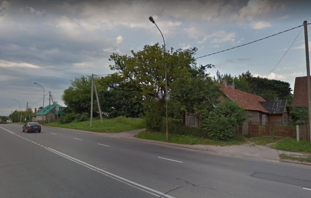 Namo dalis Liepkalnio g., Vilniuje